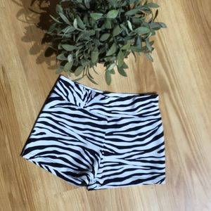 Other - 💥3/$25 Zebra Dance/Cheer Shorts Size S